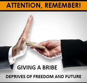 Anti-corruption measures